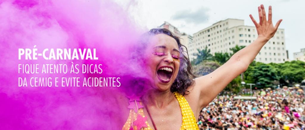 CEMIG divulga dicas para curtir o carnaval com segurança
