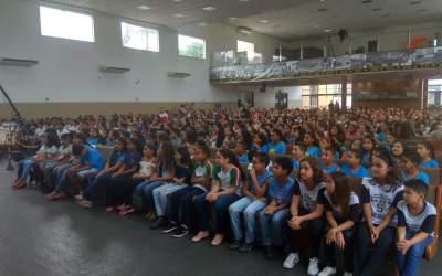 Formatura do Proerd reúne mais de 500 alunos em Itaúna