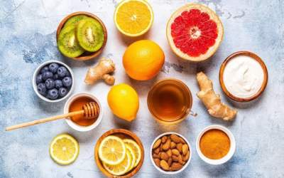 Alimentos para reforçar o sistema imunológico