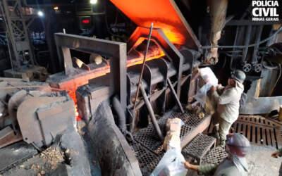 Polícia Civil incinera mais de 38kg de drogas em Pará de Minas