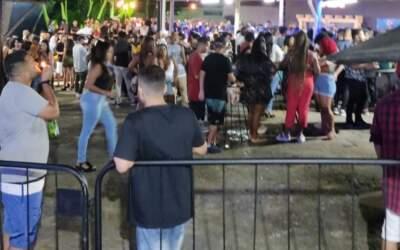 PM interrompe show de pagode com 700 pessoas em Minas