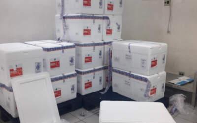 Mais de um milhão de vacinas contra a Covid-19 chegam a MG