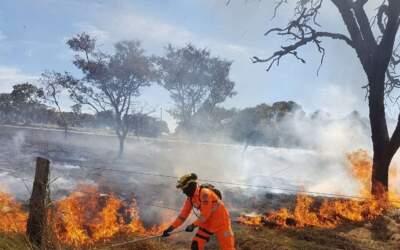 Bombeiros registram mais de 220 incêndios só nas últimas 24 horas