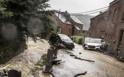 Passa de 60 o nº de mortos pela chuva na Alemanha e na Bélgica