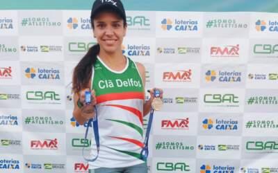 Atleta itaunense é vice-campeã de torneio estadual