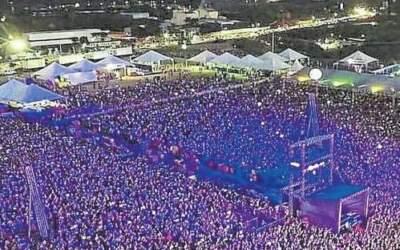 Mega Space se prepara para shows com pelo menos 10 mil pessoas no fim de semana