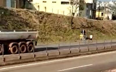 Manifestação na MG-050 causa morte de motociclista