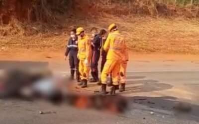 Motociclista morre em colisão na 050
