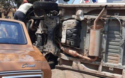 Motorista morre após passar mal e capotar van