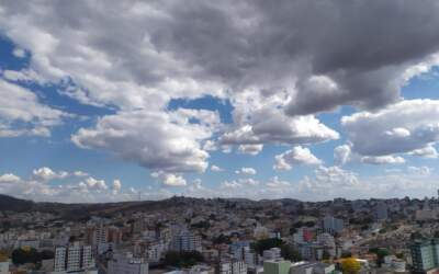 Semana deve ser com clima chuvoso em Itaúna e região