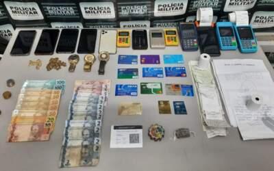 Trio suspeito de se passar por funcionários de banco e aplicar golpes é preso